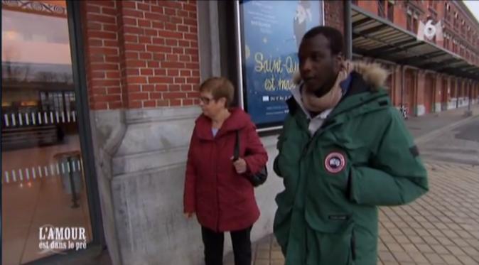 Florent va chercher Elodie à la gare avec sa maman