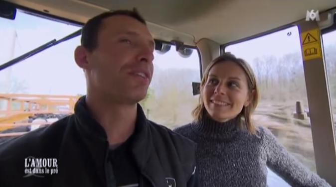 Franck et Karine, l'incontournable balade en tracteur