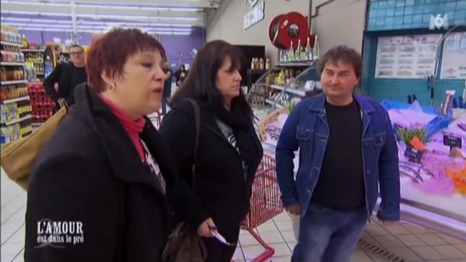 La séquence supermarché pour Michel et ses prétendantes