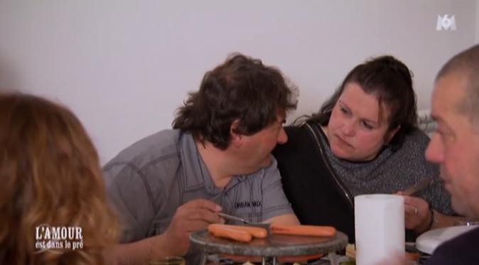 Menu raclette pour Michel, Sandrine et la famille de celle-ci