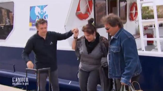 Michel et Sandrine débarquent sur l'île de Bendor !