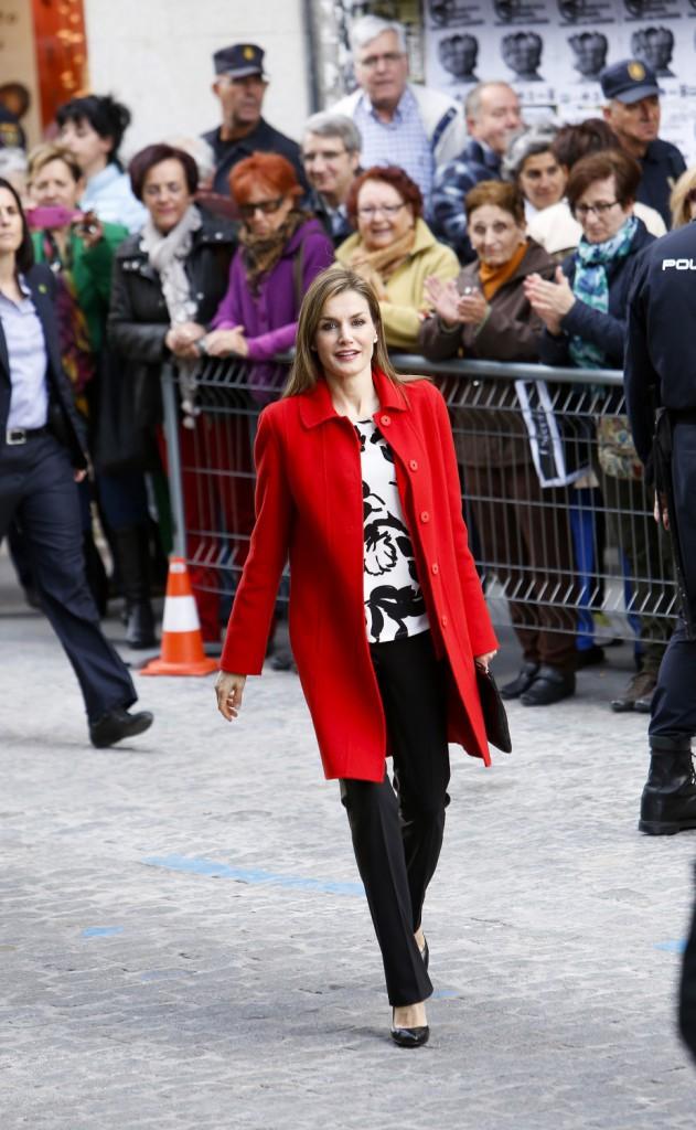 La reine Letizia d'Espagne : glamour, elle fait tourner les têtes !