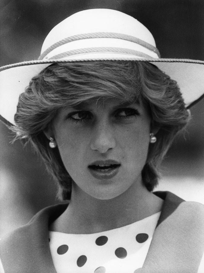 Photos : la mystérieuse princesse, en 1983