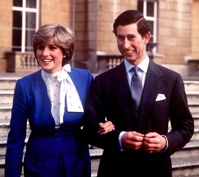 Photos : Lady Di et le prince Charles, en février 1981