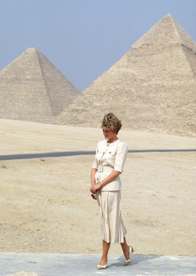 Lady Diana en Egypte !
