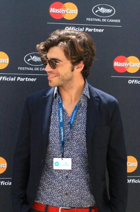 Gian Marco Tavani au festival de Cannes