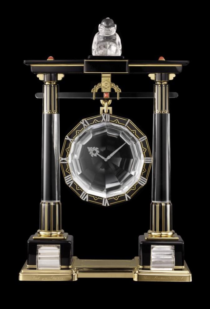 La Grande pendule mystérieuse Portique créee par Maurice Couët