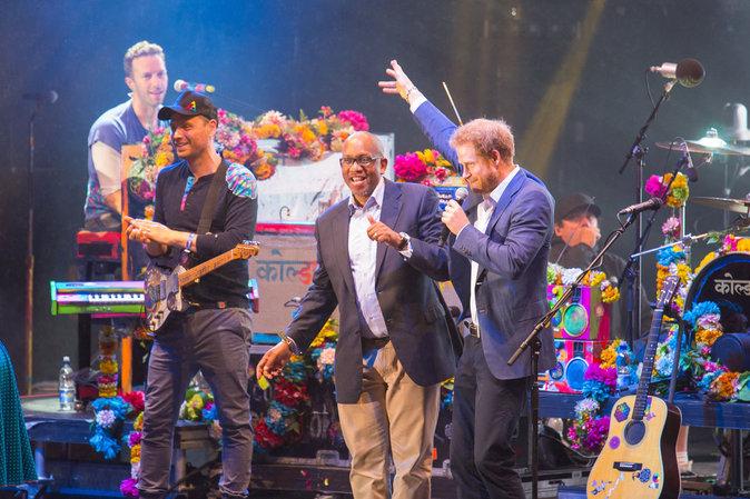 Coldplay donne un concert pour Sentebale le 28 juin 2016