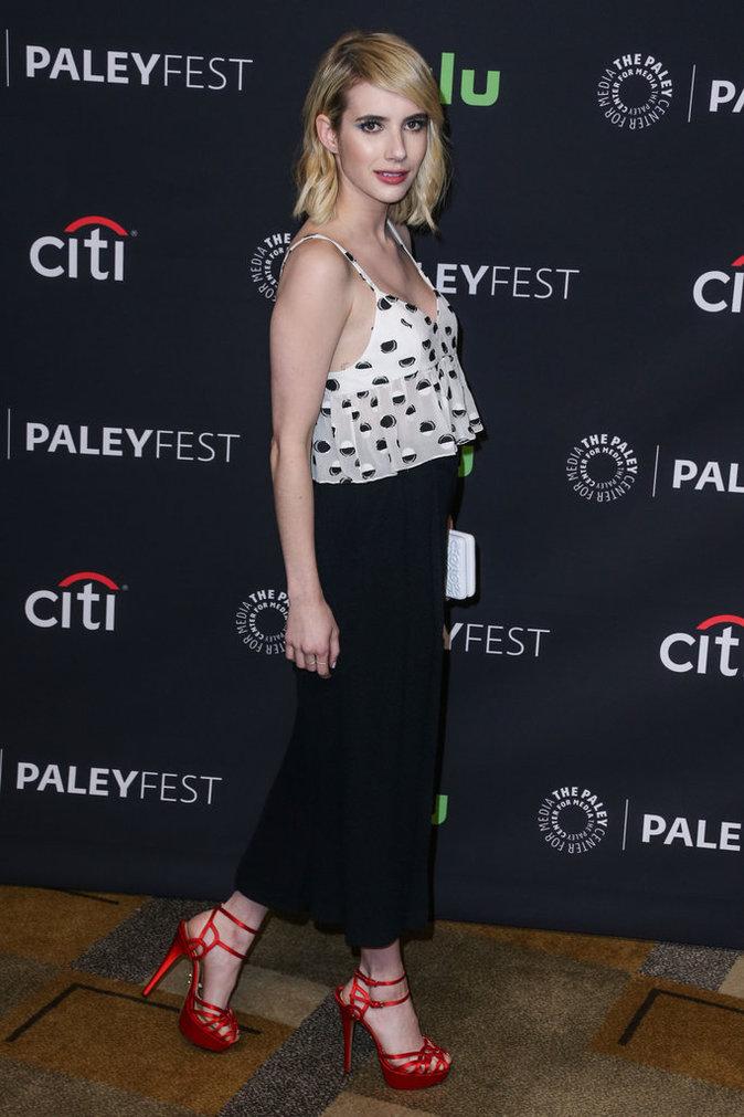 Emma Roberts a misé sur la jupe culotte