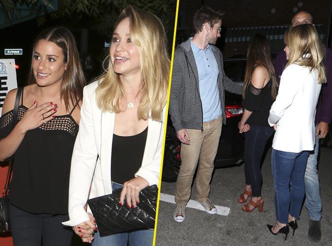 Lea Michele : Radieuse au bras de son nouveau chéri, Robert Buckley !