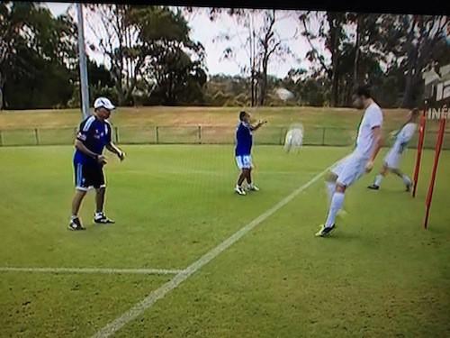 Les deux Julien à leur premier rendez-vous au FC Sydney
