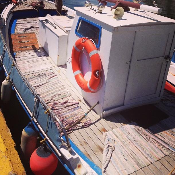Non, ce n'est pas le bateau de la famille !