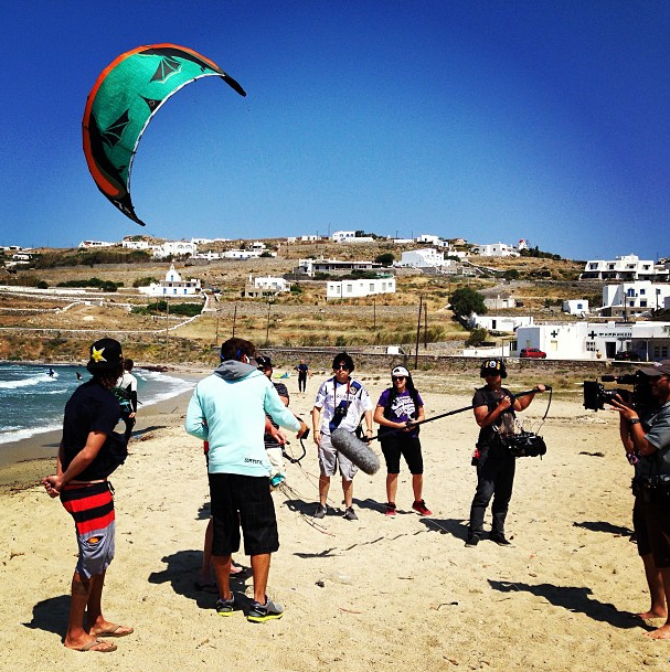 Petit cours de kitesurf