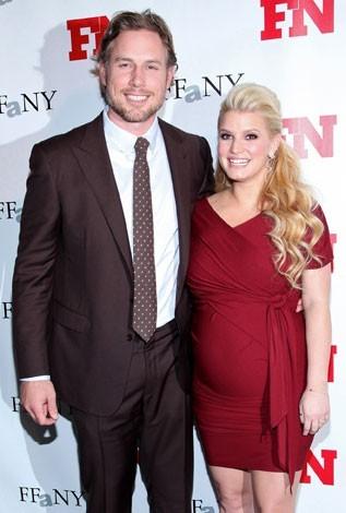 Jessica Simpson et son fiancé Eric Johnson