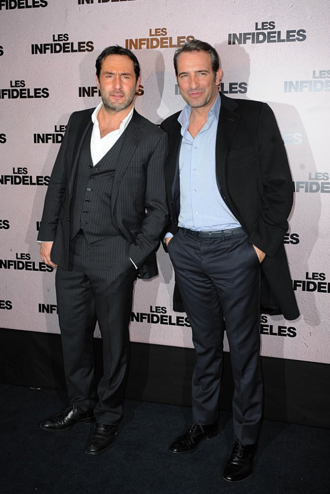 Jean Dujardin et Gilles Lellouche