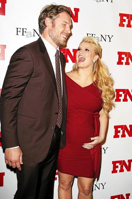 Un mariage en mars, un bébé en mai, décidément, pour Jessica Simpson et Eric Johnson, cette année 2012 promet d'être un véritable bonheur !