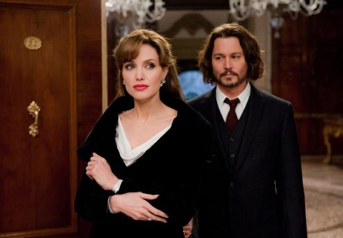 Angelina Jolie et Johnny Depp rient jaune !