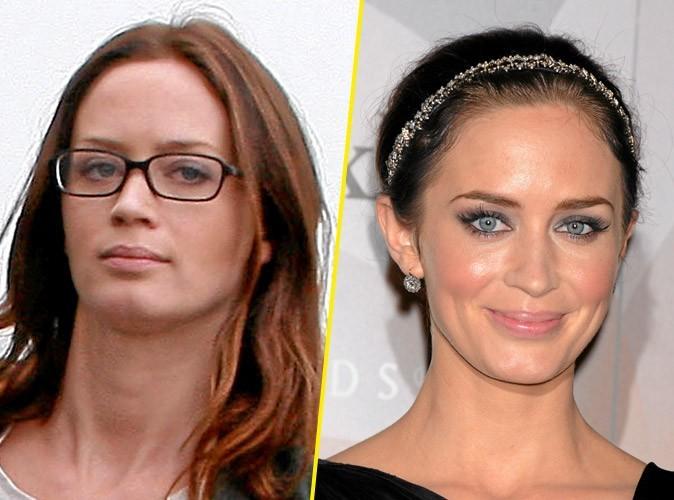 Star sans maquillage : Emily Blunt