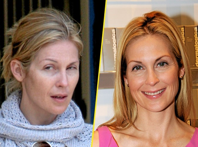 Star sans maquillage : Kelly Rutherford