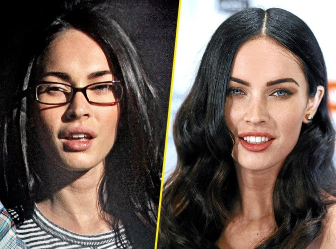 Star sans maquillage : Megan Fox