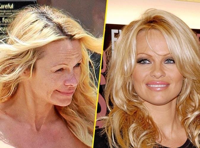 Star sans maquillage : Pamela Anderson