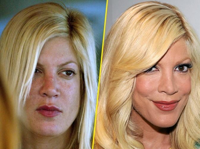 Star sans maquillage : Tori Spellng