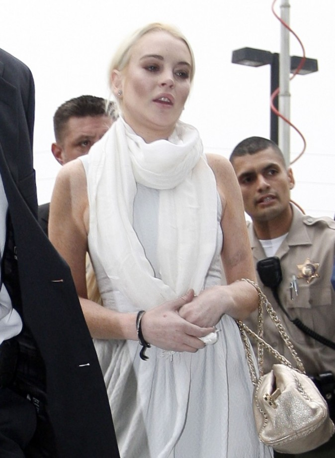 En arrivant ce jour là, savait-elle qu'elle ressortirait avec des menottes?