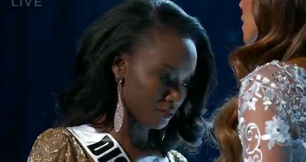 Miss DC.. future gagnante à quelques secondes de son sacre!