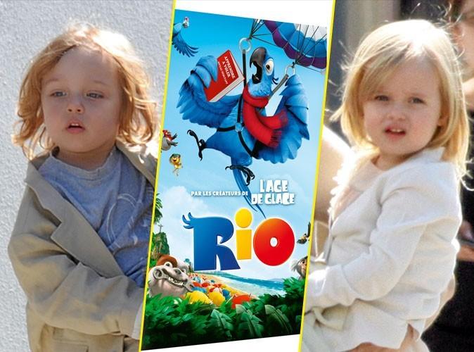 Les jumeaux Jolie-Pitt : on leur conseille Rio