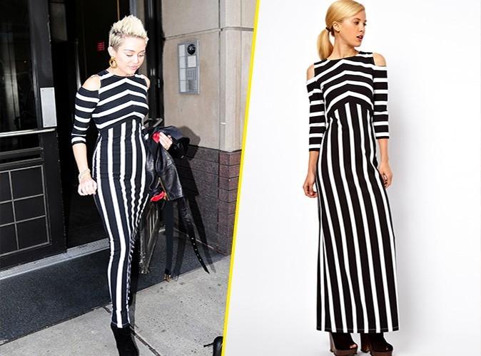 Miley Cyrus et sa robe ASOS