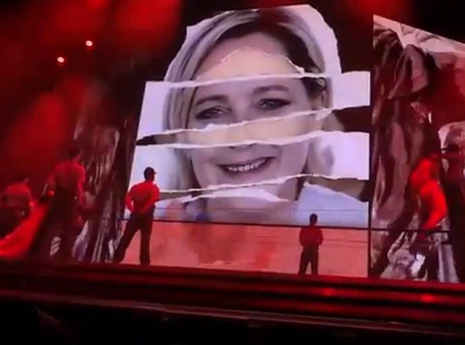 La Reine de la provoc' a défié Marine Le Pen au Stade de France, le 14 juillet 2012 !