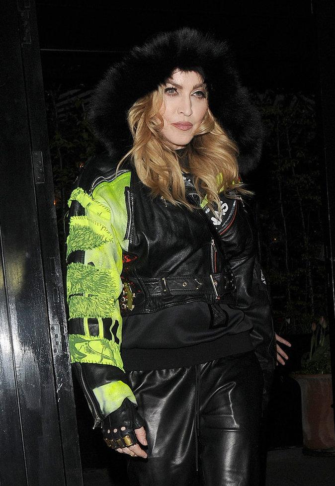 Madonna et Guy Ritchie : ils enterrent la hache de guerre au vin !