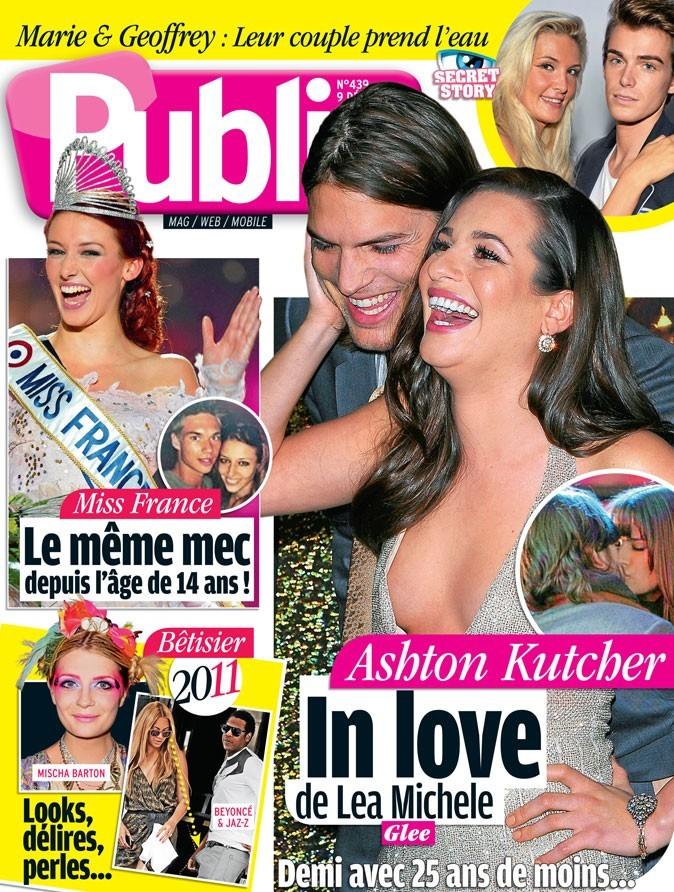 Ashton Kutcher et Lea Michele en couv !
