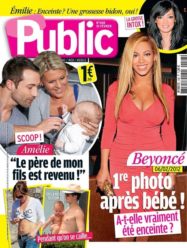 Première photo de Beyoncé après bébé !