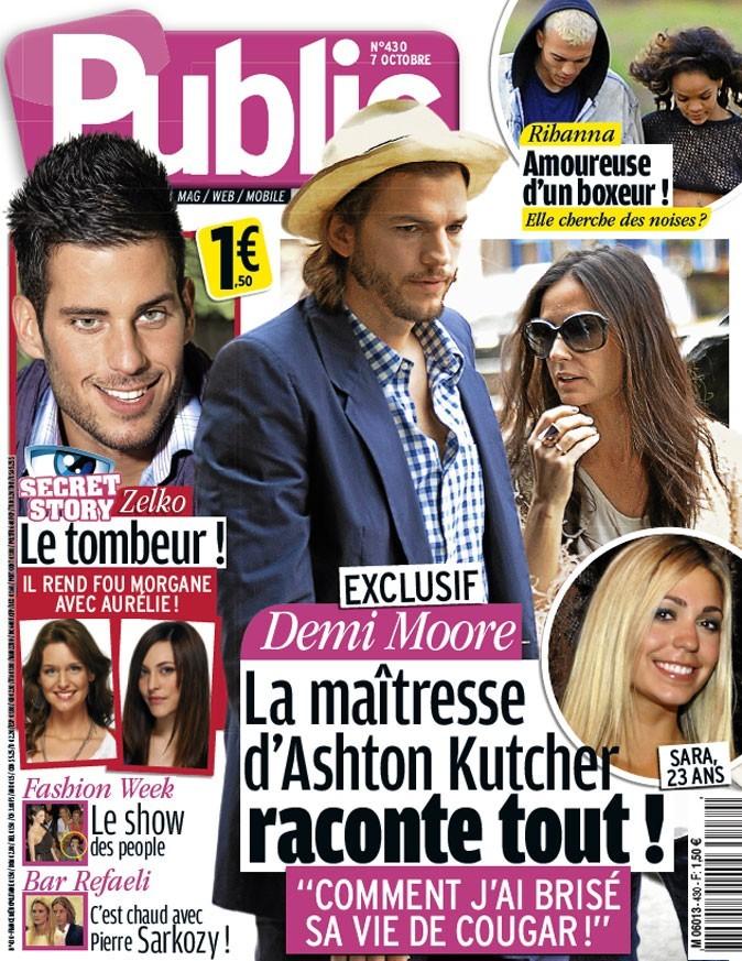 Magazine Public : Demi Moore et Ashton Kutcher en couv !