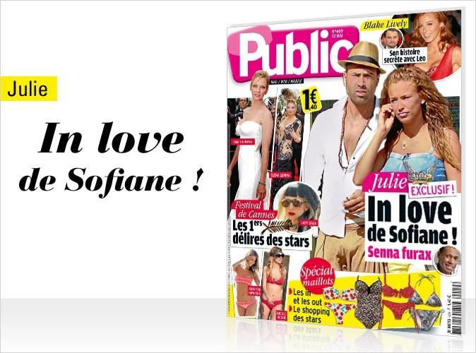 Magazine Public : Julie in love de Sofiane dans Les Anges de la télé réalité 2 !