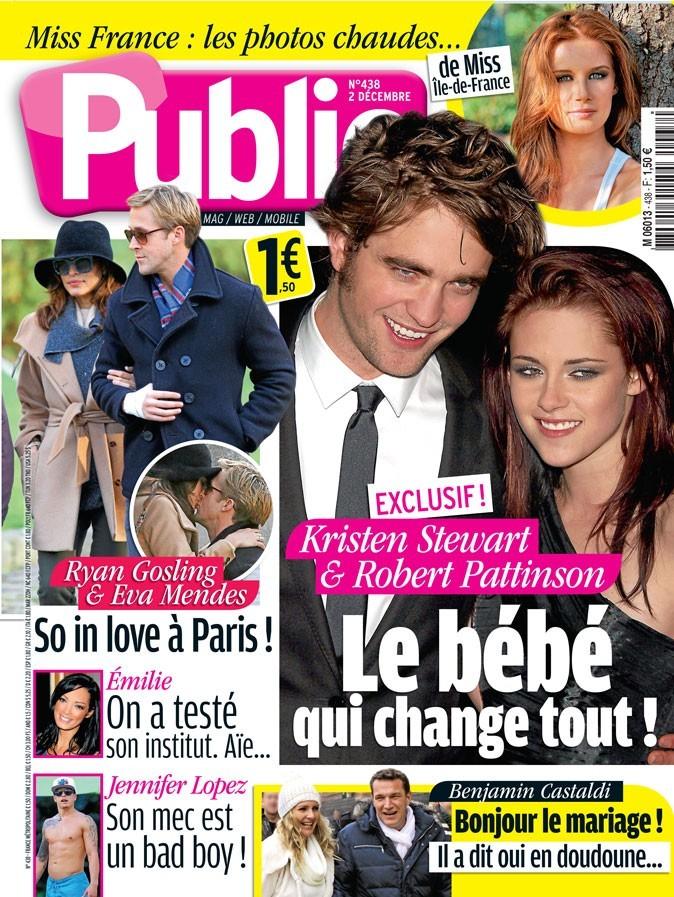 Magazine Public : Kristen Stewart et Robert Pattinson en couv !