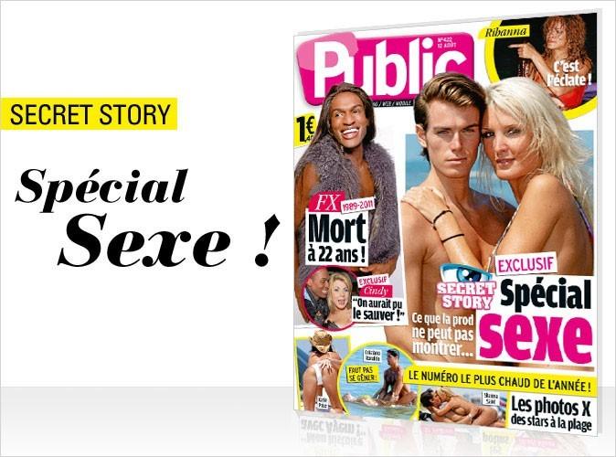 Magazine Public : Secret Story 5 : spécial sexe en couv !