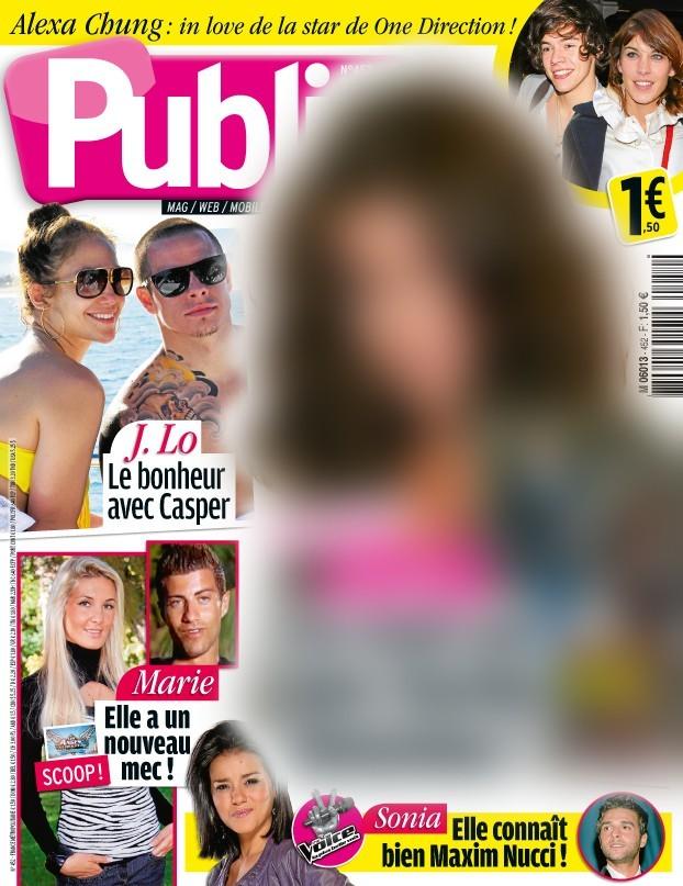 Magazine Public : une chanteuse célèbre en couv !