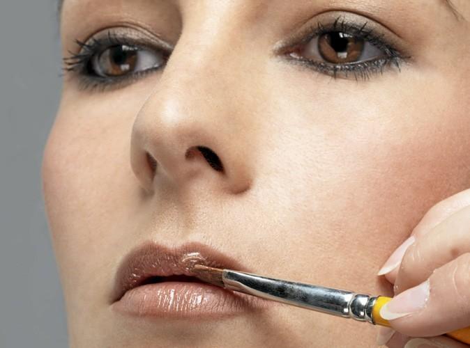 Etape 6 du make up ballerine: Lèvres habillées