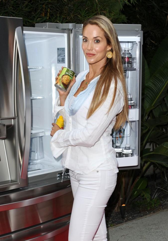 Elizabeth Berkley au Chef Junior Academy en Californie, le mardi 15 juillet 2014