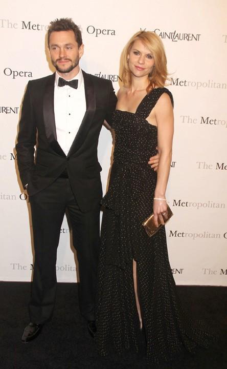 Claire Danes et Hugh Dancy lors de la première de l'opéra de Rossini, Le Comte Ory, au Metropolitan Opera House à New York, le 24 mars 2011.