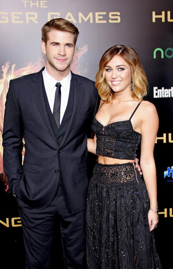 Le couple à l'avant-première de Hunger Games le 13 mars 2012