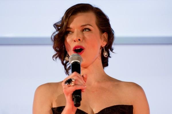 Milla Jovovich, Tokyo, 3 septembre 2012.