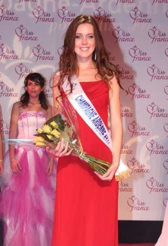 Sarah Huard, la nouvelle Miss Champagne-Ardenne