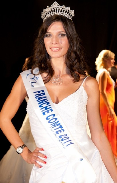 Andréa Vannier, Miss Franche-Comté 2012