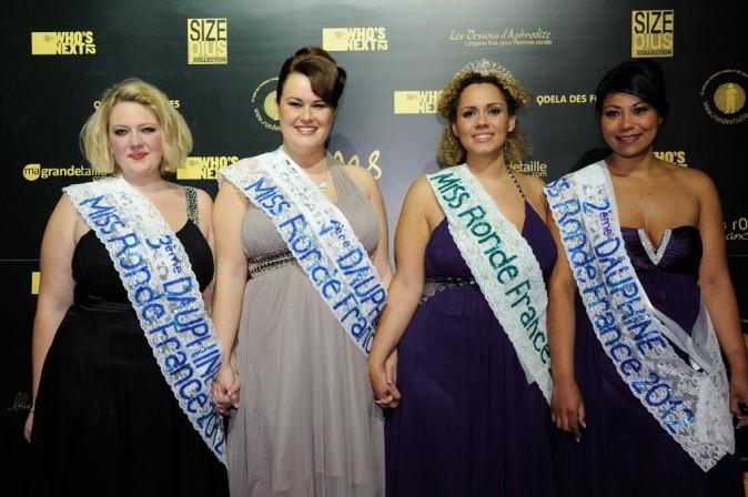 Miss Ronde 2012, entourée de ses dauphines !