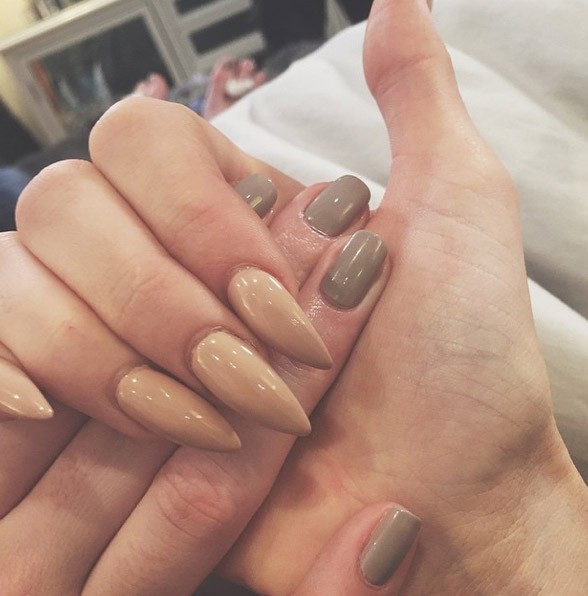 Ongles en pagaille