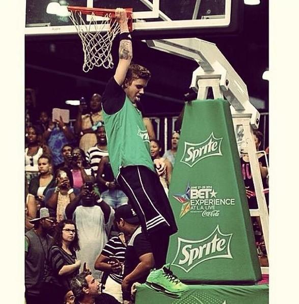 Fan de baskets et du basket
