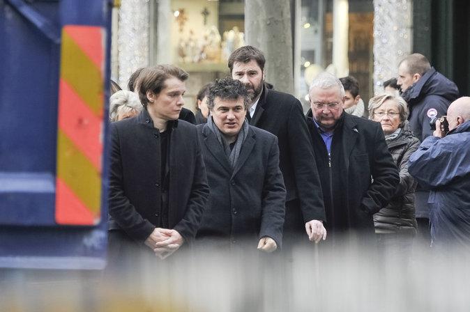 Obsèques de Michel Delpech